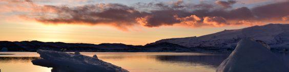 Sunset, Iceland