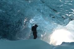 Ice cave, Iceland